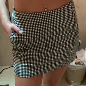 Urban Outfitters Gingham Mini Skirt - S